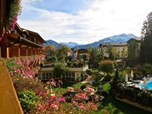 View From The Room Balcony, Salzburgerhof