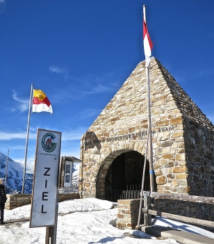 The Fuscher Torl Memorial To Those Who Died Building The Road
