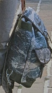 Blue And Grey Camouflage Back Pack