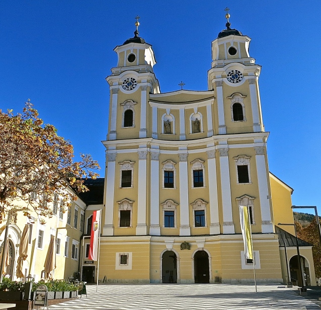 Mondsee Monastic Church Was Where Maria And Captain Von Trapp Exchange Vows In The Sound Of Music