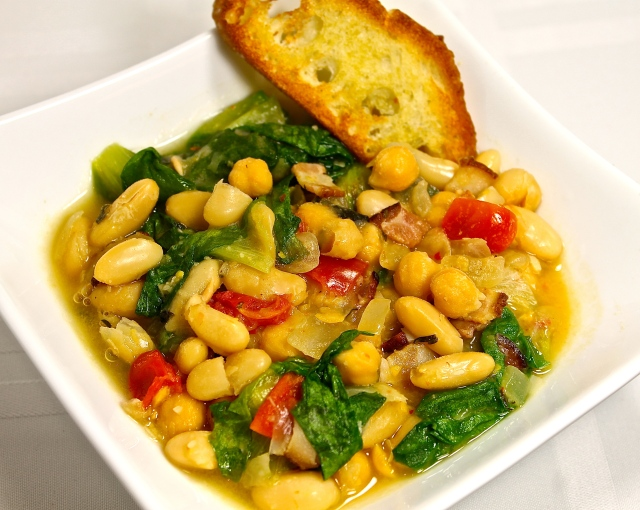 A Comforting Bowl Of Beans And Greens