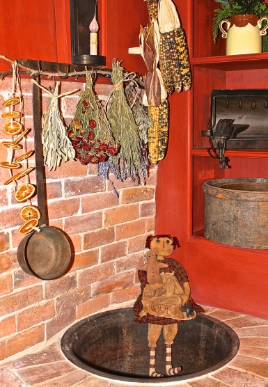 The Set Kettle Where Water Was Heated For Cooking And Washing Is Very Rare