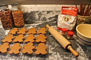 I Love The Way The Gingerbread Men Fill The Kitchen With Their Spicy Aroma