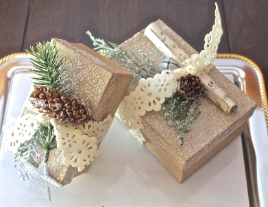 Brown Paper Packages Tied Up With….Beautiful Things