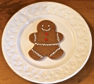 Gingerbread Man, Spicy And Sweet