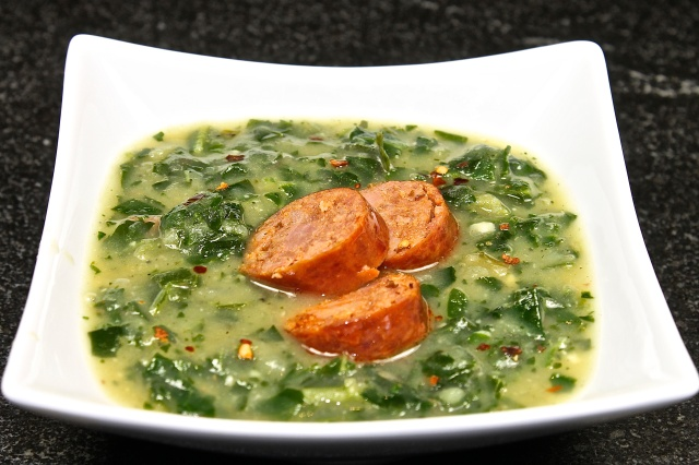 Caldo Verde, Portuguese Kale Soup