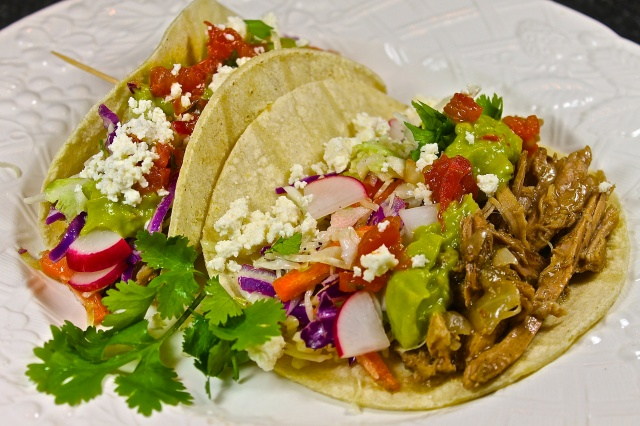 Beer Braised Pulled Pork Tacos