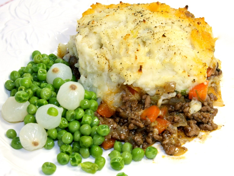 Shepherd's Pie Topped With Colcannon