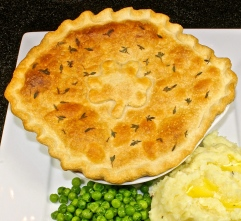 Beef And Guinness Stew With A Pastry Crust