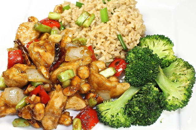 Kung Pao Szechuan Style Chicken With Peanuts