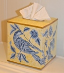 Painted Tissue Box