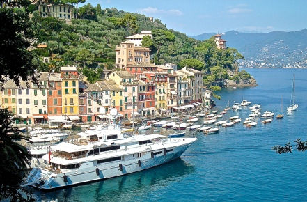 The Harbor of Portofino, Italy