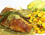 Chicken With Green Mole Sauce