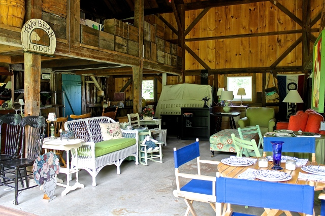 Our Barn Now Looks Like a Mini Furniture Store