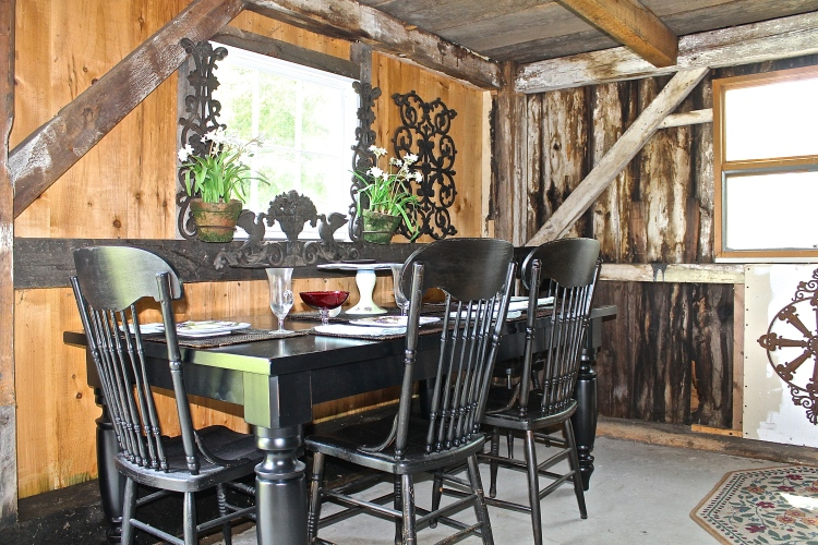 Hopefully Someone Will Buy This Table And The Antique Chairs, Perhaps Even The New Orleans Iron Work