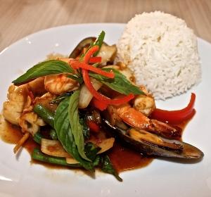 Seafood Pad Sha