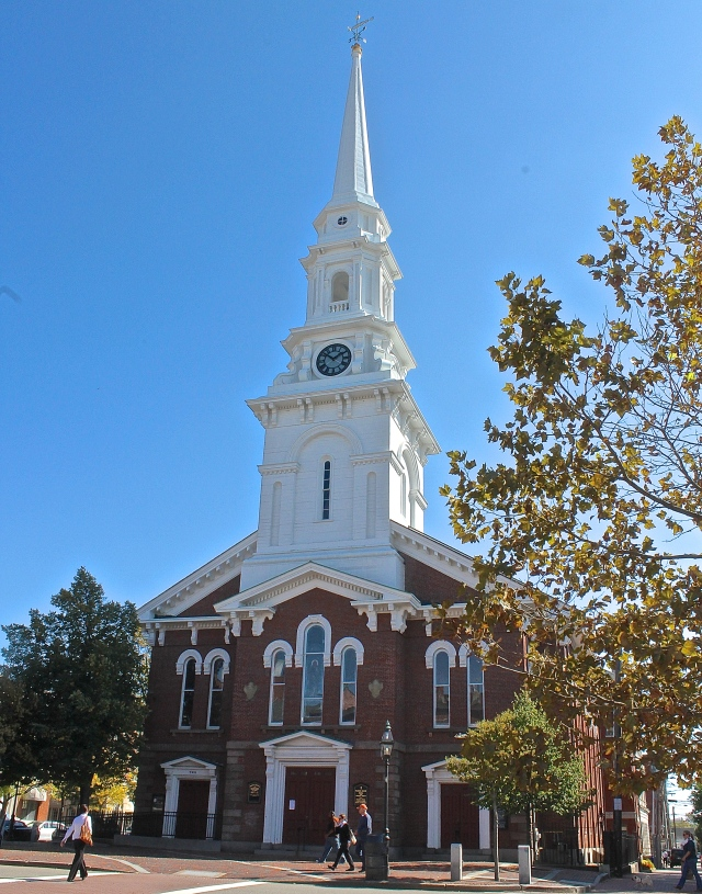 The Historic North Church, Portsmouth, New Hampshire