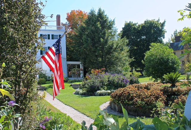 The Gardens Of The Goodwin Mansion At Strawbery Banke