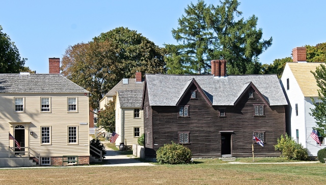 Historic Homes At The Strawbery Banke Museum, Portsmouth, New Hampire