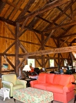 Everyone Enjoys Seeing The Interior Of A Historic Barn When Visiting A Barn Sale