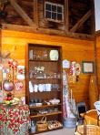 Antiques And Housewares Display At The Barn Sale