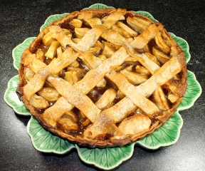 Apple Tart With Lattice Crust