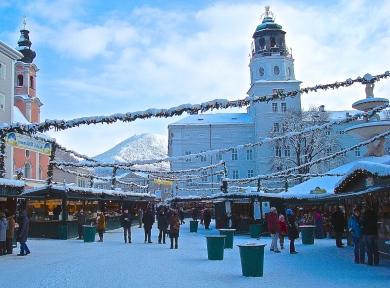 Salzburg's Christkindlmarkt