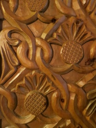 Hand Carved Paneling