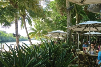 Tropical Lunchspot In Jupiter, Florida