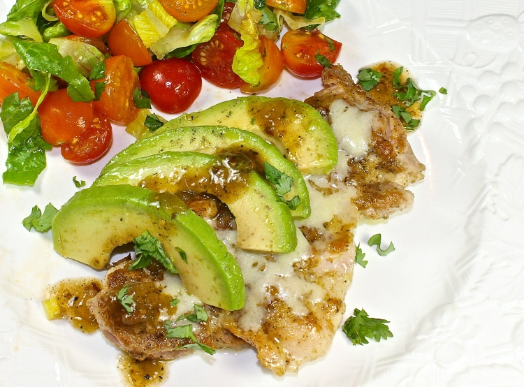 Chicken With Avocado