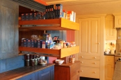 Deep Pullout Drawers In The Pantry Cabinet With The Subzero Paneled Like A Cabinet