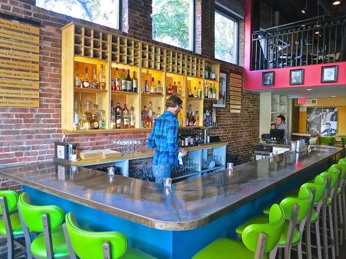 Blue Bar At Moxy