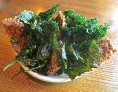 Crispy Kale With Granola Bites