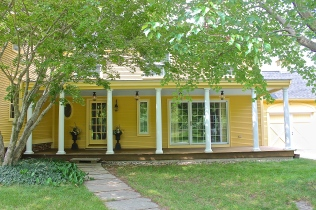 Shady Farmers Porch Welcomes Visitors