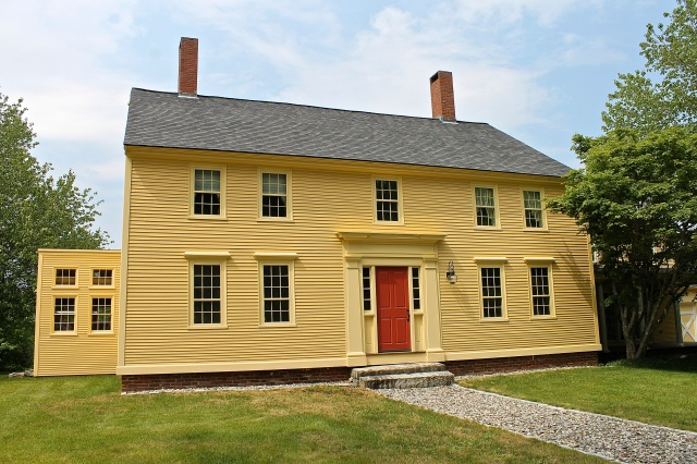 The Fully Restored 1730 Georgian Colonial Farmhouse