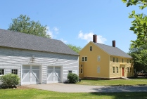 The Colonial House And Barn