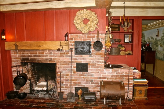 Antique Kitchen Hearth