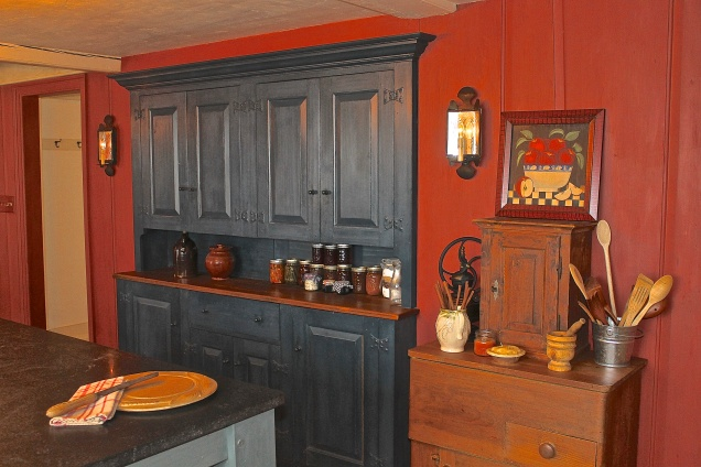 The Pantry Is Designed As A Step Back Cupboard