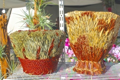 Decorative Seagrass Containers