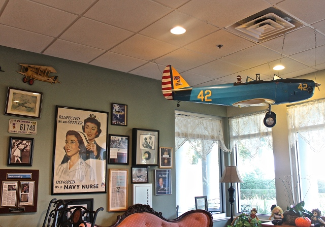 C. J. Cannon's Restaurant Is Decorated With Model Planes and Memorabilia