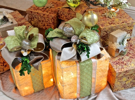 Lite Box Christmas Packages