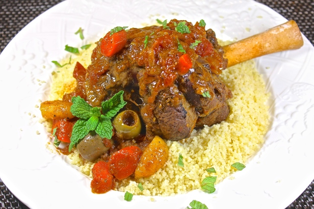 Moroccan Style Braised Lamb Shanks Are Perfect For A Dinner Party