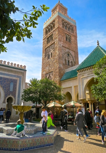 Moroccan Towers, Gates And Fountains