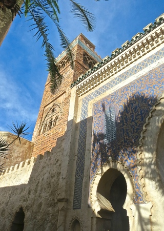 Epcot's Beautiful Moroccan Mosaic Gate