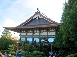 Replica Of Ceremonial Hall Of Japan's Imperial Palace