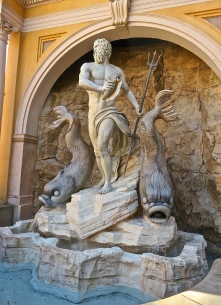 Replica Inspired by Bernini's Neptune Fountain