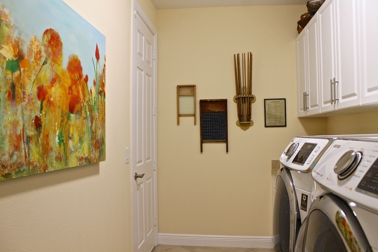 The Laundry Room Can Be Entered Either Through The Garage Or The Front Foyer