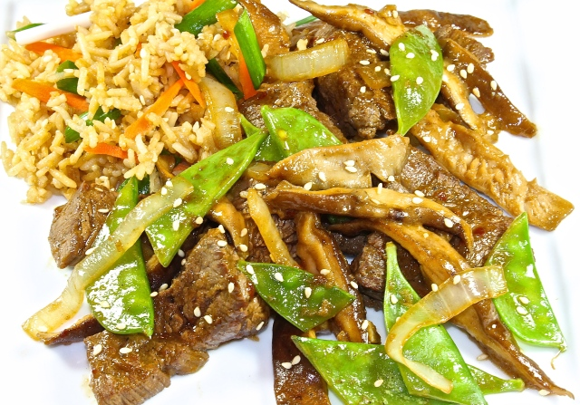 Sesame Beef With Snow Peas, Better Than Takeout