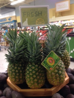 Typical Pineapples Sold At Most Grocery Stores