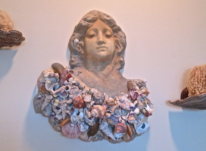 Sculpture With Seashells